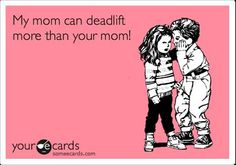 Deadlift! #Fitocracy  My kids will totally say this about me someday.