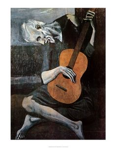 The Old Guitar Player, 1903