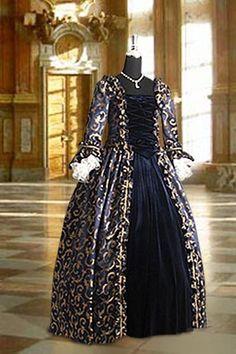 Renaissance Ball Gown - Medieval Renaissance Clothing, Costumes