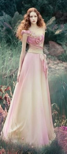 Alena Goretskaya ~ add fairy wings to her back and she could have come out of a fantasy book