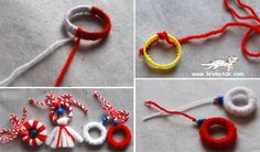 children activities, more than 2000 coloring pages Baba Marta, Noel Christmas, Textile Art, Washer Necklace, Coloring Pages, Activities For Kids, Recycling, Projects To Try, Textiles