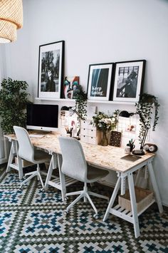 home Office Decor Home Office Space, Home Office Desks, Office Furniture, Office Decor, Office Workspace, Small Office, Furniture Stores, Workspace Inspiration, Desk Inspo