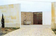 Eduardo Souto De Moura Stone Houses The house at the far end.