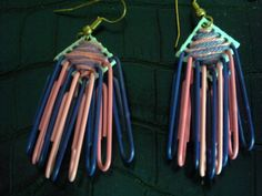 paper clip jewelry | Paper Clip Earrings by glitzandglam85 on Etsy