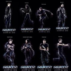 OMG THESE POSTERS ARE SO BEAUTIFUL, I CANT HANDLE IT. THE FEEEEELS !!! #Insurgent