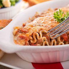 Lasagnes faciles aux steaks hachés