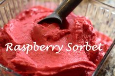 Recipe: Raspberry Sorbet {Picture Tutorial} | Fabulessly Frugal: A Coupon Blog Sharing Gift Ideas, Amazon Deals, Printable Coupons, DIY, How to Extreme Coupon, and Make Ahead Meals