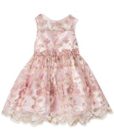 b1a3bfdee48 Rare Editions Baby Girls Embroidered Dress   Reviews - Dresses - Kids -  Macy s · Baby Girl DressesGirls Easter DressesBaby GirlsBaby DressSpecial  Occasion ...