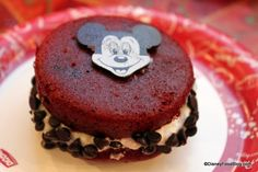 I'm having dessert the next time I'm at Disney:  Mickey Whoopie Pie at Sunshine Seasons