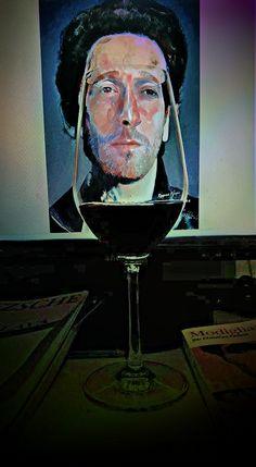 Adrien Brody - Digital art by Rosane Farias