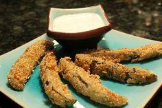 Homemade Vegan Fried Pickles