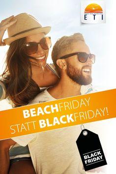 Beach Friday statt Black Friday. Black Friday bei ETI Austria. Black Friday. Schnäpchen zum Black Friday. Wegfliegen. Traumurlaub buchen! Ab nach Ägypten. Marsa Alam, Port Ghalib, Hurghada, Makadi Bay oder Sharm El Sheikh. Günstige Preise. Urlaub in Ägypten.   #hurghada #sharm #makadi #portghalib #egypt #ägypten #travel #reisen #places #blackfriday #schnäpchen #günstig #urlaub #redsea #strand #meer #sonne Sharm El Sheikh, Mirrored Sunglasses, Mens Sunglasses, Marsa Alam, Strand, Beach, Travel, Beautiful Hotels, Canarian Islands