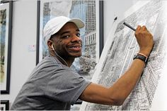 I never get sick of reading this story: Stephen Wiltshire is an Artist on the spectrum who can draw entire landscapes down to the tiniest detail from memory. Check out his web page!