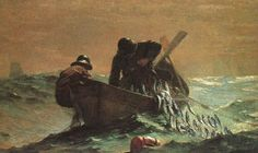 The Herring Net, Winslow Homer, 1895!!