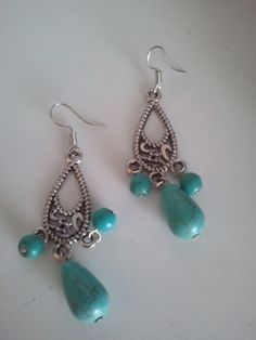 LOVE big chandelier earrings! If done tastefully, they never go ...