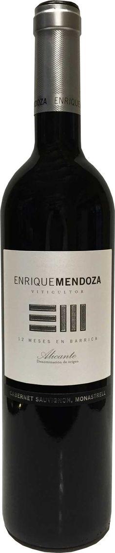 Enrique Mendoza Cabernet Sauvignon Monastrell Crianza 2011 - Comprar Vino Tinto - Alicante - Enrique Mendoza Cabernet Sauvignon Monastrell Crianza 2011   Licorea