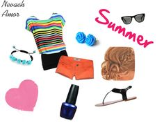 """""""Summer Fun"""" by Nevaeh Amor on Polyvore"""