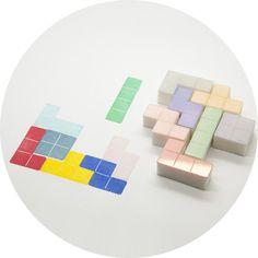 Tetris Stämpelset - PAPPER & KONTOR