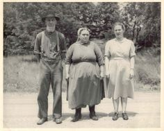 Camp Ebenezer:  Tillie Yoder and Her Parents