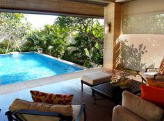 巴里島Mulia Villas 私人大庭院