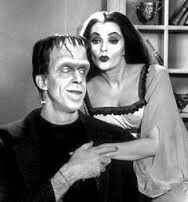 The Munsters Fred Gwynne and Yvonne Dicarlo star as Herman & Lily Munster