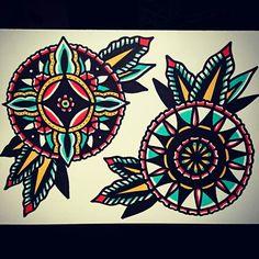 #tattoo #mandala #traditionaltattoo #tattoos #ink