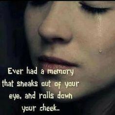 Those sneaky memories.