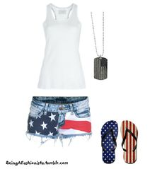 4th of July outfit. Would be so cute on my daughter!