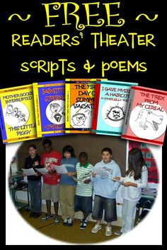 Teach Your Child to Read Free readers theater scripts readers theater poems that provide fast, funny reading fluency activities for students in and grades. Give Your Child a Head Start, and.Pave the Way for a Bright, Successful Future. Reading Fluency Activities, Drama Activities, Reading Strategies, Reading Skills, Teaching Reading, Guided Reading, Drama Teaching, Drama Games, Free Reading Games