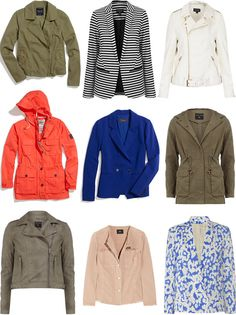 spring jackets / so much to smile about