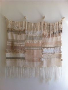 Jess Feury weaving at OGAARD Textile Work