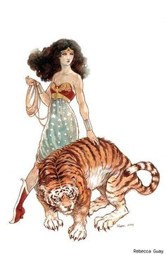 Wonder Woman - Rebecca Guay