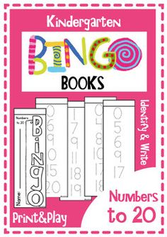 Bingo Books - Numbers to 20