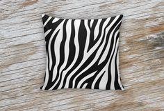 Zebra Decorative Pillow
