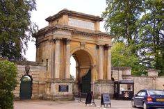 The Town Gate to Blenheim Palace