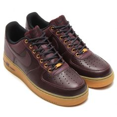 Nike Air Force 1 Low Deep Burgundy 2014 Winter Pack