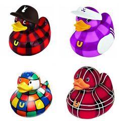 BUD rubber ducks