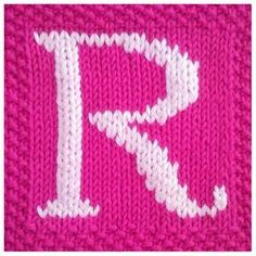 knit embroidery letters - Bing images