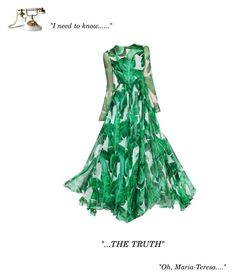 """""""I need to know the truth..."""" by theitalianglam ❤ liked on Polyvore featuring Dolce&Gabbana and 313 Tre Uno Tre"""