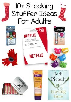10+ Stocking Stuffer Ideas For men and women (other than candy!). Come get inspiration for what to give your husband, wife, boyfriend, girlfriend or teenage kid in their christmas stocking!