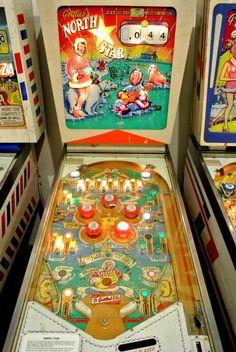 1964 North StarGottlieb Pinball machine