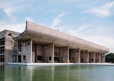 Le Corbusier's Chandigarh government buildings captured in new images by Benjamin Hosking Contemporary Building, Contemporary Architecture, Le Corbusier Chandigarh, Lisbon Apartment, India Architecture, Design, Palace, Photographs, Concrete