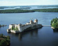 Castillo de Olavinnlina, Finlandia