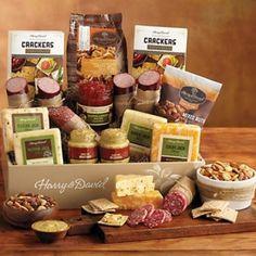 Cheese, Sausage, Meat, Gift Baskets, http://shopfruitbaskets.com
