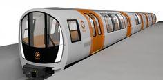 Glasgow Subway trains and signalling contract awarded - International Railway Journal Underground Tube, London Underground, Glasgow Subway, Metro Subway, Train System, U Bahn, Bus Coach, Public Transport, Locomotive