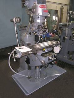 Have to have a work horse milling machine don't we?