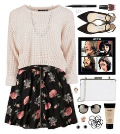 """All through the day, I me mine, I me mine, I me mine."" by charcharr ❤ liked on Polyvore featuring Abercrombie & Fitch, Sondra Roberts, Jimmy Choo, David Yurman, OPI, Stila, Monki, Linda Farrow, NYX and Bobbi Brown Cosmetics"