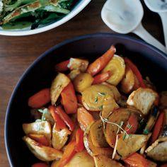 29 roasted vegetable recipes: Honey-Glazed Roasted Root Vegetables Recipe - Grace Parisi | Food & Wine