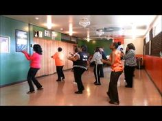 ▶ Booty Call Line Dance demo by Fre2Dance - YouTube