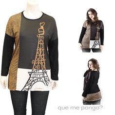 Camiseta Torre · Camisetas y Tops
